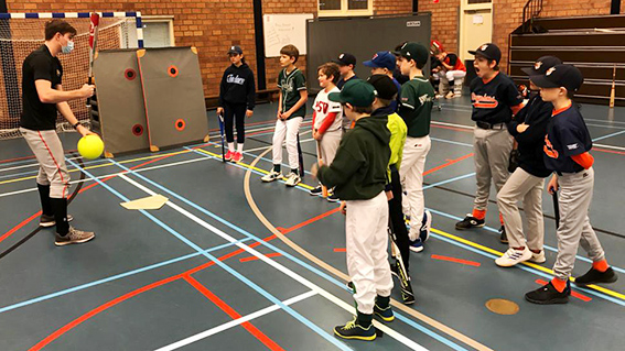 Winterschool Bixie Baseball